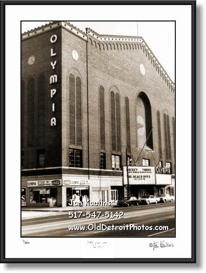 Click on this image to view Vintage Old Detroit Photo Print Photo Gallery #8.