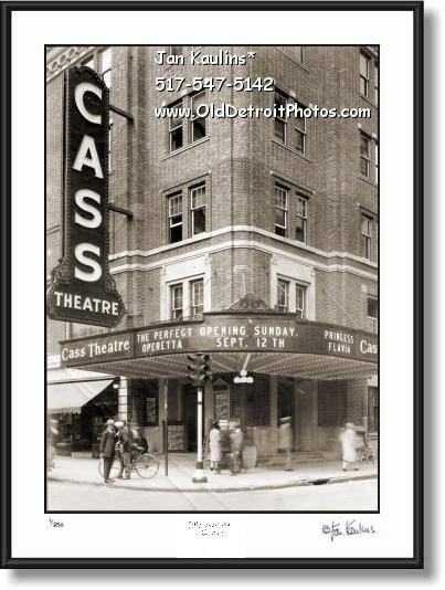 Click on this image to view Vintage Old Detroit Photo Print Photo Gallery #10.